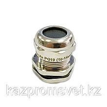 Кабельный ввод PG  19 латунный УТ1,5 IP68 (d кабеля 10-14 мм) ЗЭТА