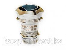 Кабельный ввод ВК-М25-18-МР25 IP66/IP67/IP68 ЗЭТА для металлорукава