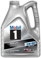 Моторное масло MOBIL 1 5W-50 Peak Life на разлив с бесплатной заменой