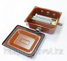 Коробка клеммная У614А УХЛ1,5 IP65 латунный ввод ЗЭТА