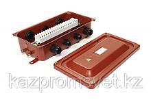 Коробка клеммная У615А У2 IP54 пластиковый ввод ЗЭТА