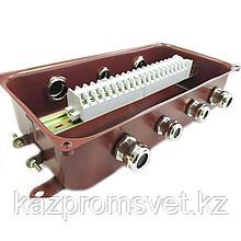 Коробка соединительная КС-20 УХЛ1,5 IP65 латунный ввод ЗЭТА