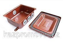 Коробка монтажная КМ 65-10 УХЛ1,5  IP65   металлические заглушки ЗЭТА
