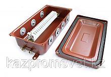 Коробка монтажная КМ 65-20 УХЛ1,5 IP65  металлические заглушки ЗЭТА