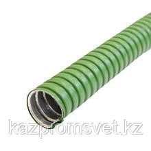 Металлорукав в ПВХ изоляции МРПИ НГ  15   зеленый ЗЭТА