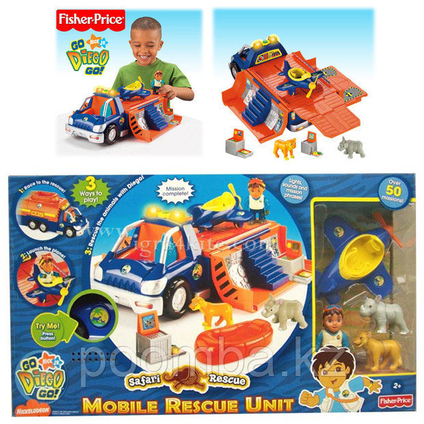 Fisher Price Машина Диего