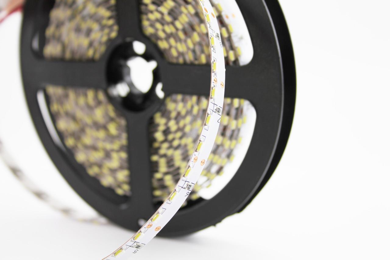 Светодиодная торцевая лента 120SMD3014, IP20, 9,6W, белого свечения 10000-12000 K, 5м