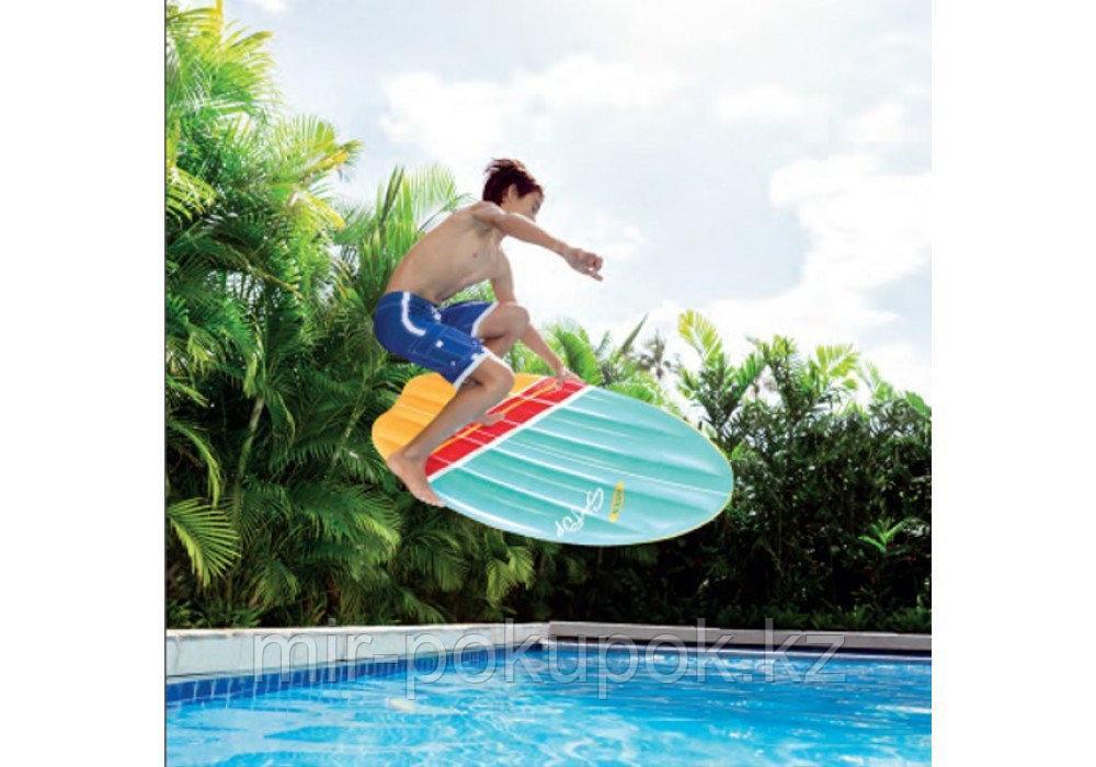 Надувная доска для сёрфинга Intex 58152 (матрас для плавания пляжный)