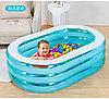 Бассейн детский надувной овальный прозрачный INTEX 57482, фото 2