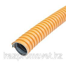 Металлорукав в ПВХ изоляции МРПИ НГ  25  (50 м/уп.) оранжевый ЗЭТА