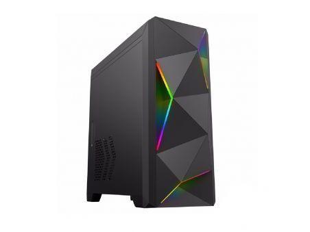 Корпус ПК без БП GameMax 6830 Ares MATX, 1xUSB3.0, 2xUSB2.0, HD, AUDIO, 368x173x365mm