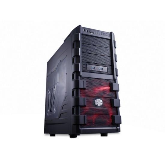Кейс, Cooler Master, HAF 912 (RC-912-KKN1), ATX, Mid Tower, USB Hub, HD-Audio, Чёрный, Окно для установки/снятия кулера процессора без демонтажа