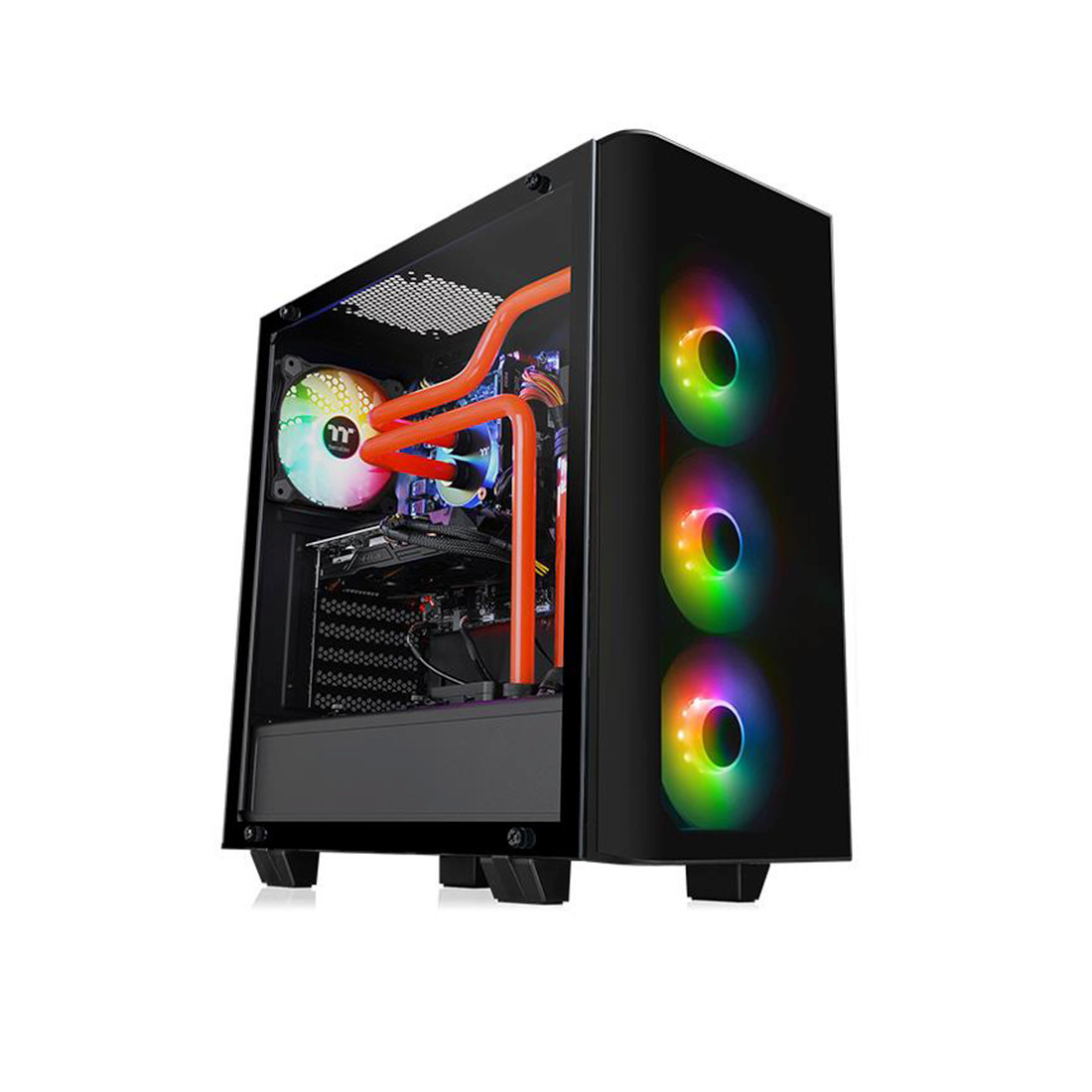 Компьютерный корпус Thermaltake View 21 TG RGB Plus без Б/П