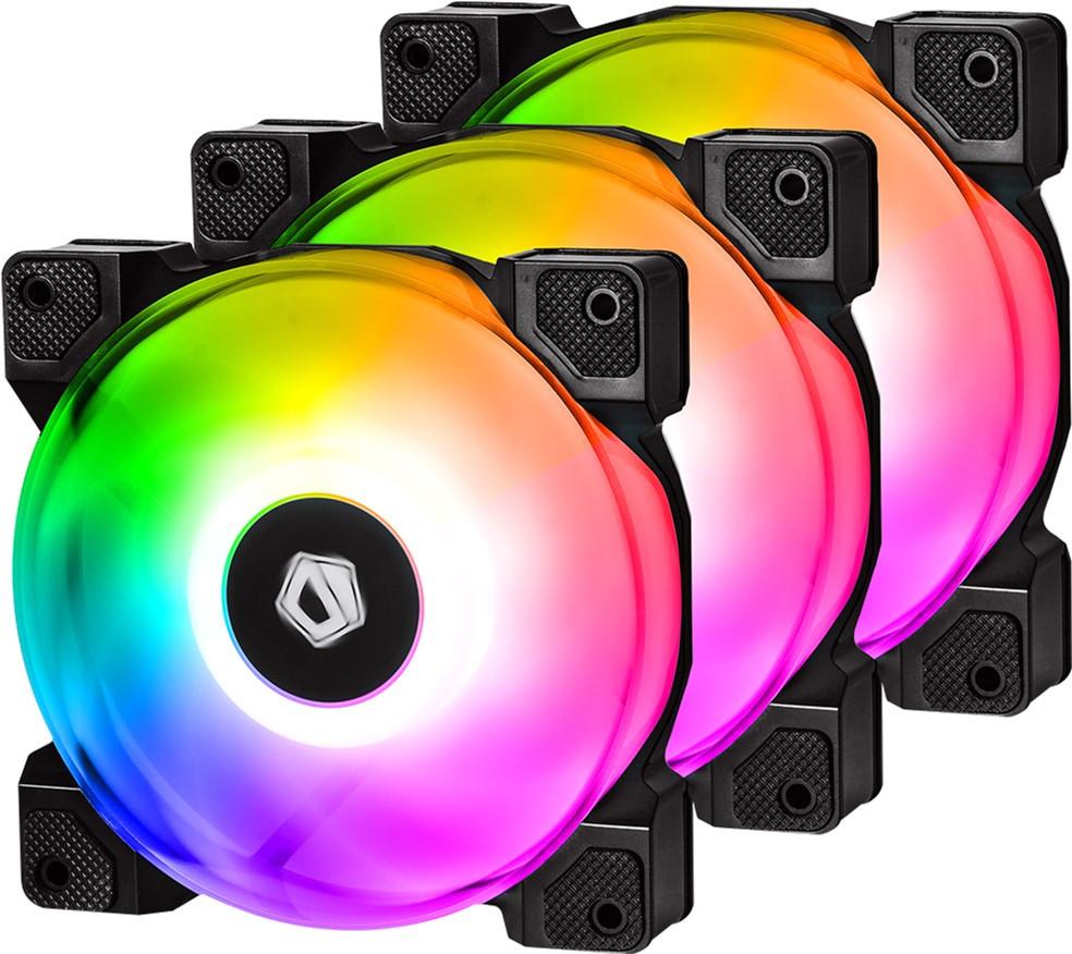 Вентилятор для корпуса ID-Cooling DF-12025-RGB TRIO