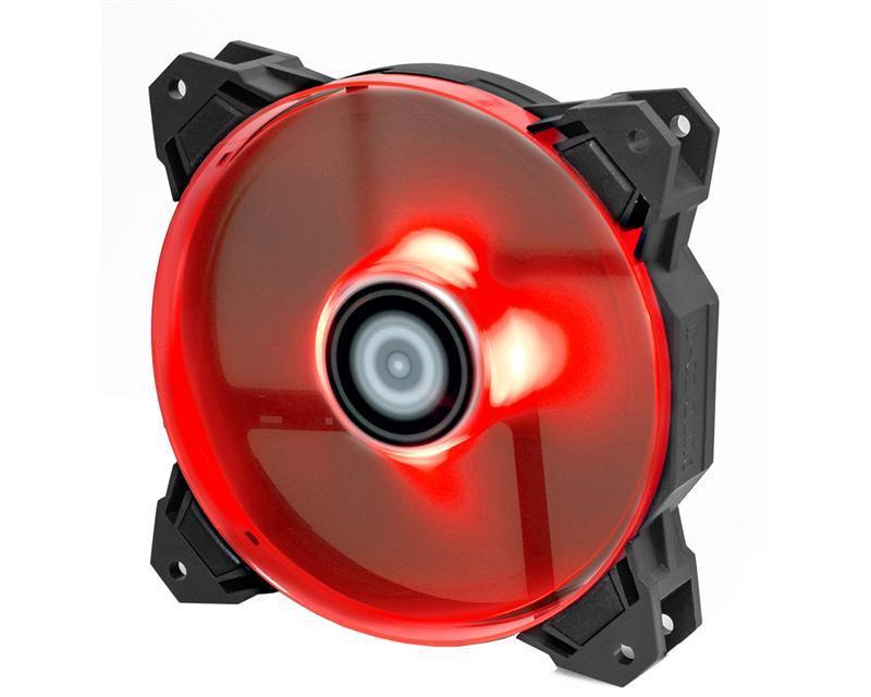 Вентилятор для корпуса ID-Cooling SF-12025-R RED