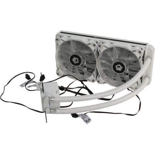 Жидкостная система охлаждения ID-Cooling AURAFLOW 240 SNOW