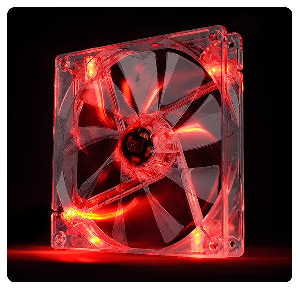 Кулер Thermaltake Pure 12 LED Red (CL-F019-PL12RE-A)