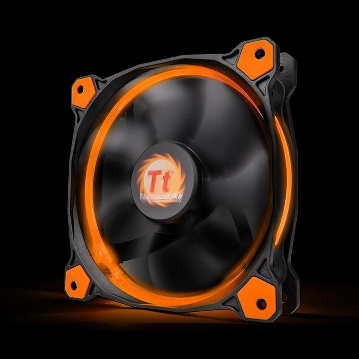 Кулер Thermaltake Riing 12 LED Orange (CL-F038-PL12OR-A)