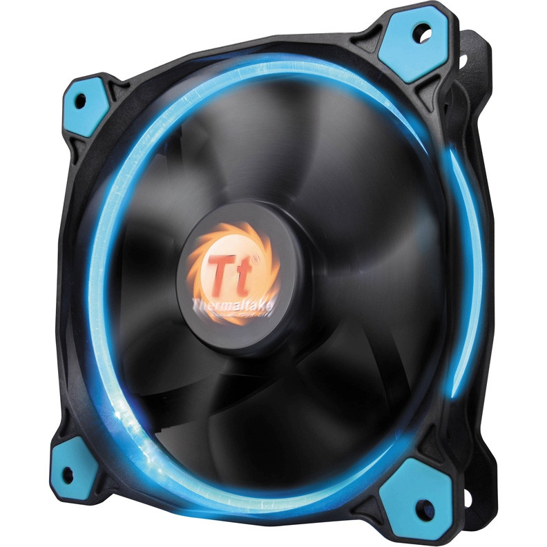 Кулер Thermaltake Riing 14 LED Blue (CL-F039-PL14BU-A)