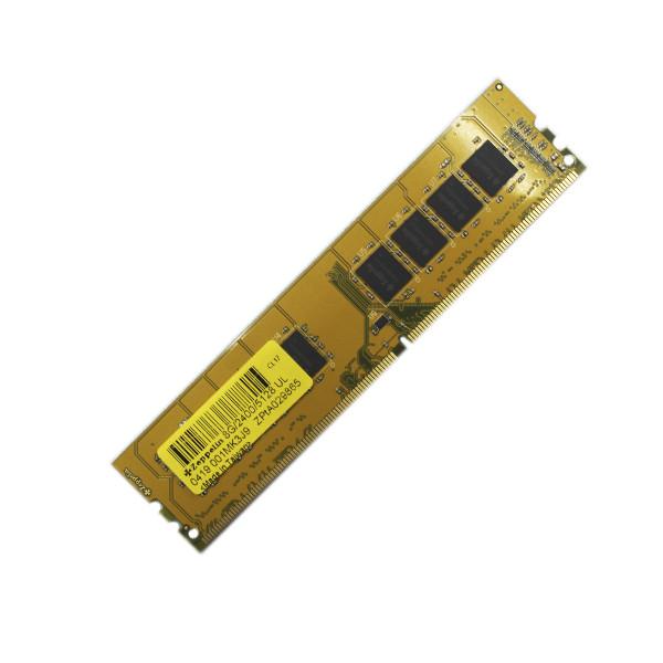 Оперативная память DDR4 PC-19200 (2400 MHz)  8Gb Zeppelin  <1Gx8, Gold PCB>