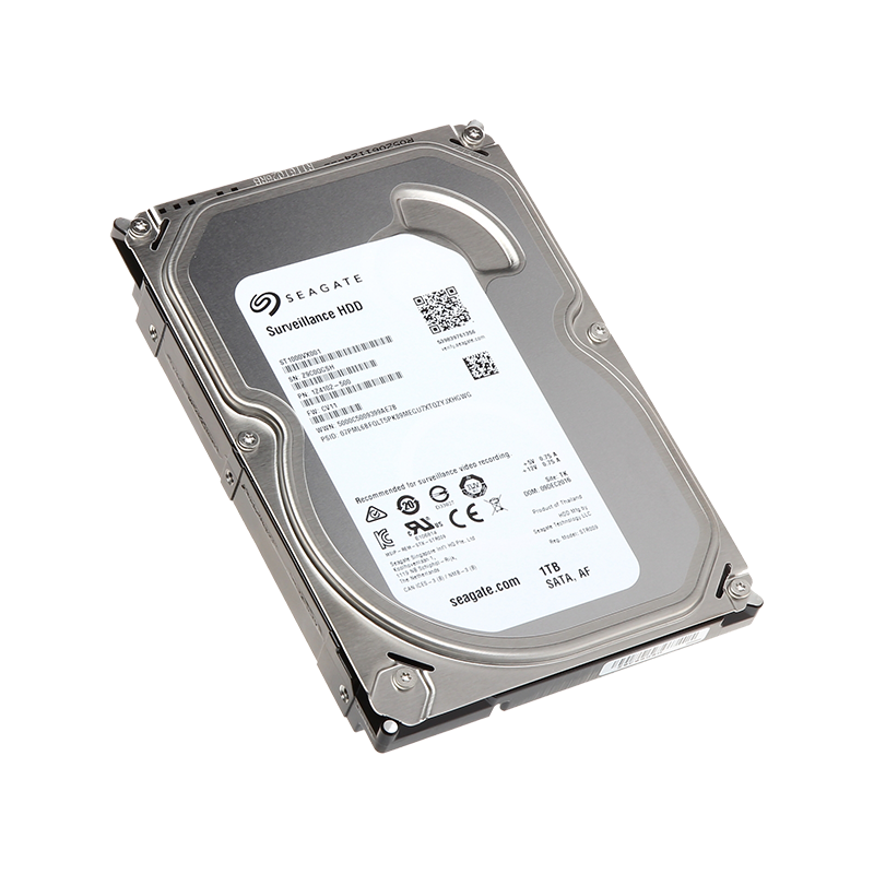 "Жёсткий диск HDD 1 Tb SATA 6Gb/s Seagate SkyHawk 3.5"" 5900rpm 64Mb"