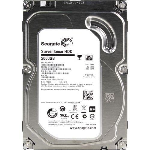 "Жёсткий диск HDD 2 Tb SATA 6Gb/s Seagate SkyHawk  3.5"" 64Mb"
