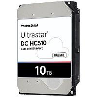 "Жесткий диск HDD 10TB WD ULTRASTAR DC HC510 SAS 3.5"" SAS ULTRA HC510 26.1MM HUH721010AL5204 0F27354"