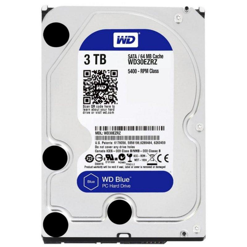 Жесткий диск HDD 3Tb Western Digital Blue 64Mb 5400rpm