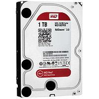 "Жёсткий диск HDD 1 Tb SATA 6Gb/s Western Digital Red 3.5"" 5400rpm 64Mb"