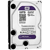 "Жёсткий диск HDD 6 Tb SATA 6Gb/s Western Digital Purple 3.5"" 5400rpm 64Mb"