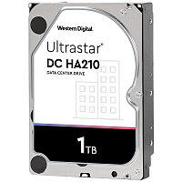 """Жёсткий диск HDD 1 Tb SATA 6Gb/s Western Digital Ultrastar  HUS722T1TALA604 3.5"""" 7200rpm 128Mb"""