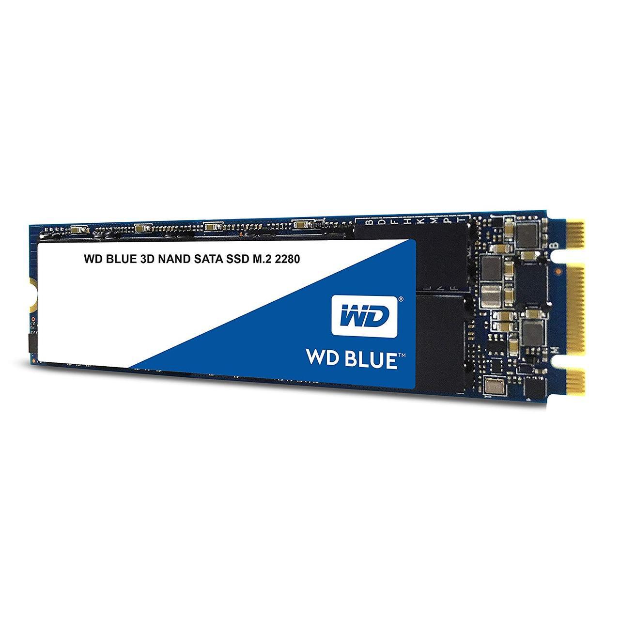 Твердотельный накопитель SSD 500 Gb M.2 2280 NVMe  6Gb/s WD Blue WDS500G2B0С