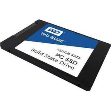 """Твердотельный накопитель 250GB SSD WD Серия BLUE 3D NAND 2.5"""" SATA3 WDS250G2B0A"""