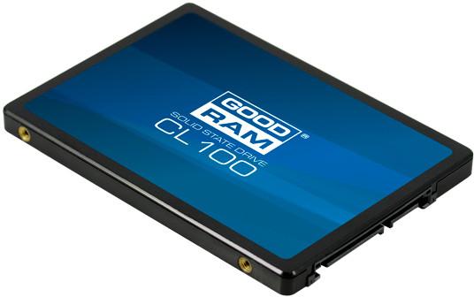 """Твердотельный накопитель  480GB SSD GOODRAM CL100 2.5"""" SATA3 R520Mb/s W400MB/s SSDPR-CL100-480-G2"""