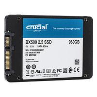 """Твердотельный накопитель 960GB SSD Crucial BX500 2.5"""" SATA3"""