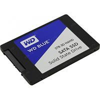 """Твердотельный накопитель 1000GB SSD WD WDS100T2B0A Серия BLUE 3D NAND 2.5"""" SATA3"""