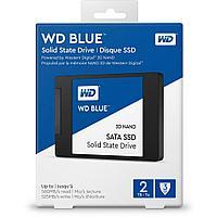 """Твердотельный накопитель 2000GB SSD WD WDS200T2B0A Серия BLUE 3D NAND 2.5"""" SATA3"""