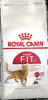 Royal Canin Fit 32 сухой корм для кошек с умеренной активностью, бывающей на улице нерегулярно
