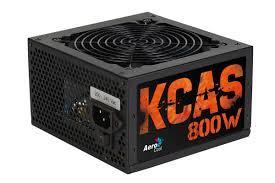 Блок питания, Aerocool, KCAS PLUS 800W, 800W, ATX, APFC