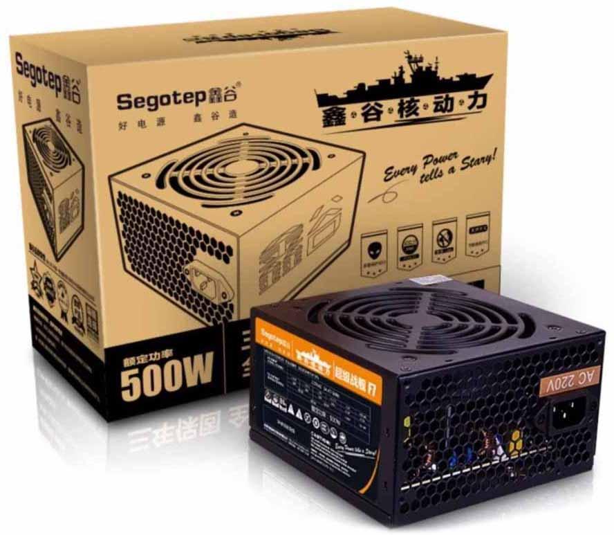 Блок питания 500W SEGOTEP F7 500W 120mm