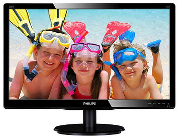 "Монитор 23, 6"" PHILIPS 243V5QSBA/01 MVA W-LED 1920x1080"