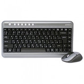 Комплект Клавиатура+мышь беспроводная A4tech 7300N Wireless 2.4G, USB, V-Track G7