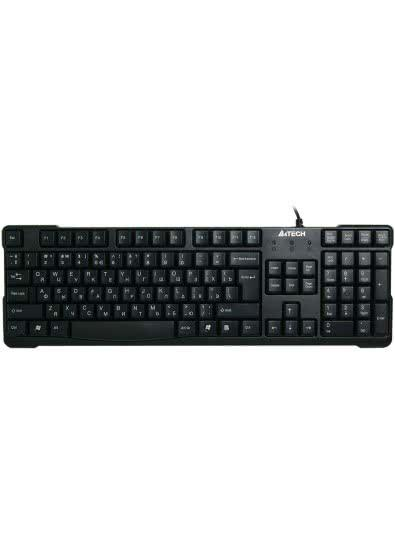 Клавиатура A4tech KR-750 USB, Black, закругленные клавиши