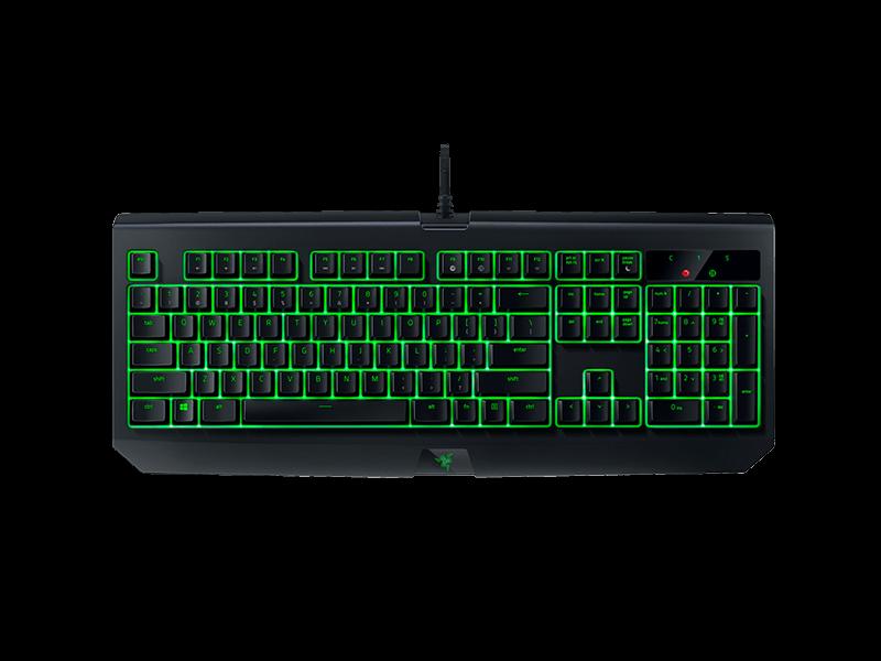 Клавиатура, Razer, BlackWidow Ultimate (Green switch) RZ03-01703600-R3R1, Игровая, Механические переключатели Razer Green, Программируемые клавиши,