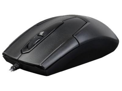 Мышь A4tech N-301 BLACK Оптическая USB 1000 dpi