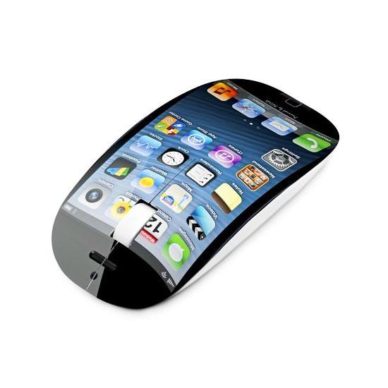 Мышь, Delux, DLM-111OUI, 3D, Оптическая, 800dpi, USB, Длина кабеля 1, 6 метра, Размер: 112, 1*56, 5*26, 81 мм., Молдинг, iPhone