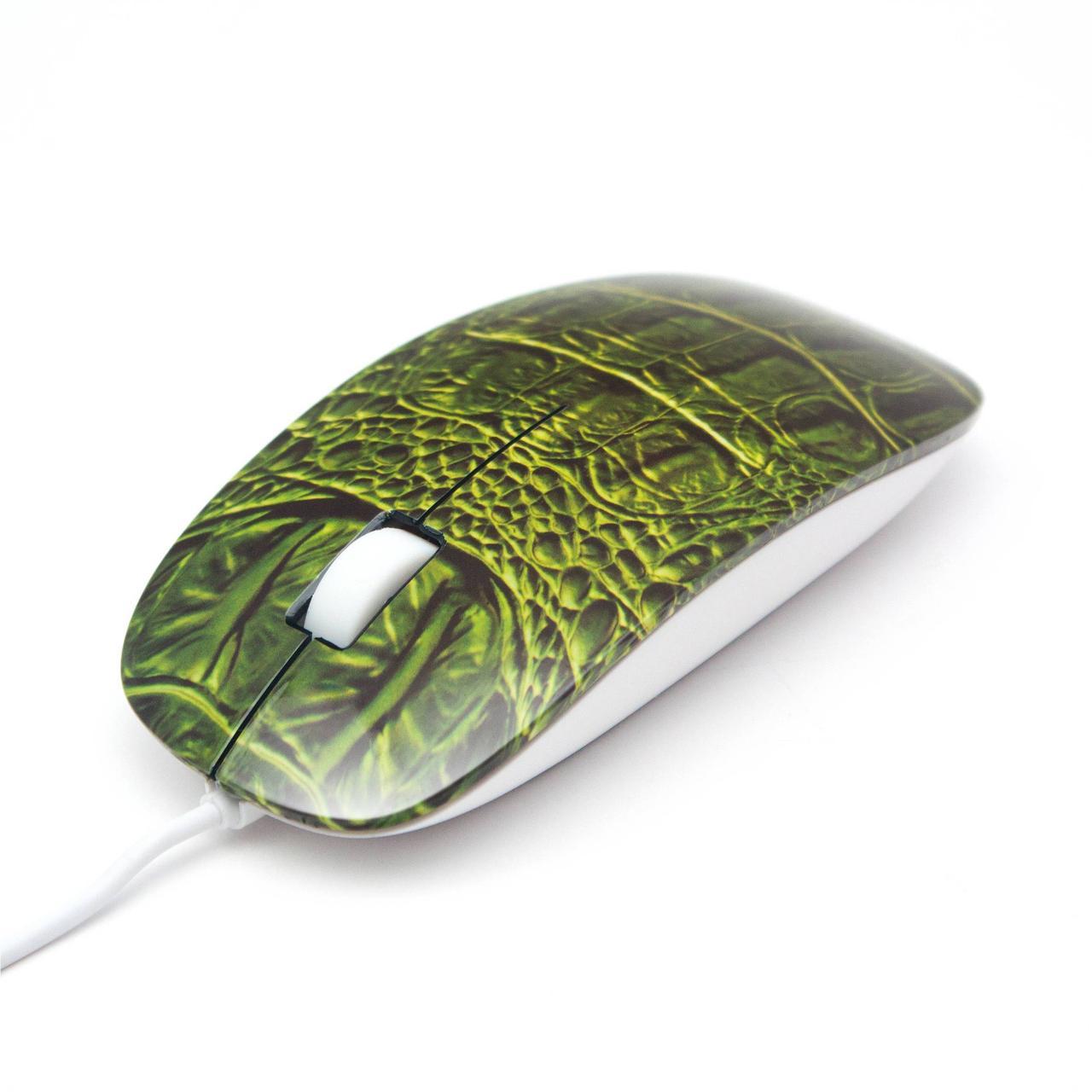 Мышь, Delux, DLM-111OUC, 3D, Оптическая, 800dpi, USB, Длина кабеля 1, 6 метра, Размер: 112, 1*56, 5*26, 81 мм., Молдинг, Крокодил