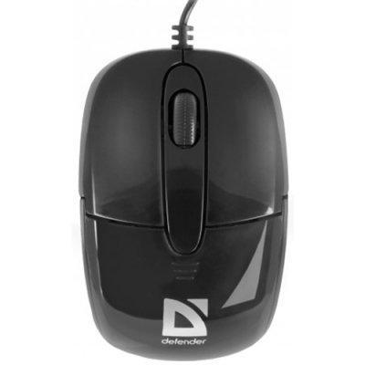 Мышь проводная Defender Optimum MS-130 черный