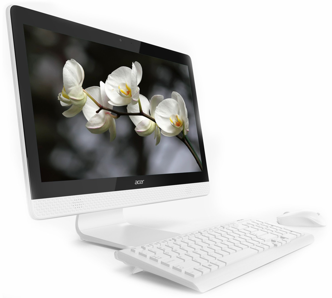 Моноблок AIO Acer Aspire C20-820 19.5'HD/Intel Celeron J3060/4GB/500GB/DVD (DQ.BC4MC.004) /
