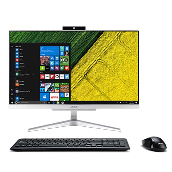 Моноблок AIO Acer Aspire C22-860 21.5'FHD/Intel Pentium 4405u/4GB/500GB/WiFi+BT/Win10 (DQ.BAVMC.004) /